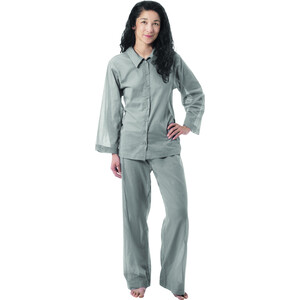 Traveler's Tree Insect Shield Travel Pyjama Damen safari grey safari grey