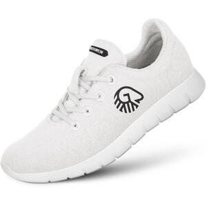 Giesswein Merino Wool Chaussures de running Femme, blanc blanc