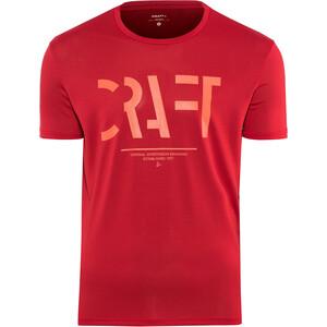 Craft Eaze Kurzarm Mesh T-Shirt Herren canyon canyon