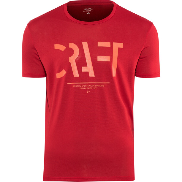 Craft Eaze Kurzarm Mesh T-Shirt Herren canyon