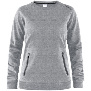 Craft Emotion Crew Sweatshirt Dam grey melange grey melange