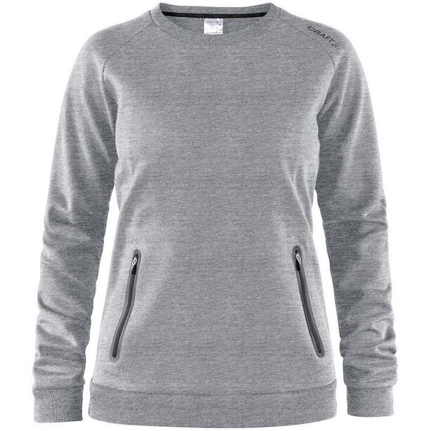 Craft Emotion Crew Sweatshirt Dam grey melange