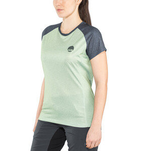 IXS Flow Kurzarm Trikot Damen light jade/graphite light jade/graphite