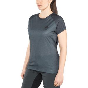 IXS Flow Kurzarm Trikot Damen black/graphite black/graphite