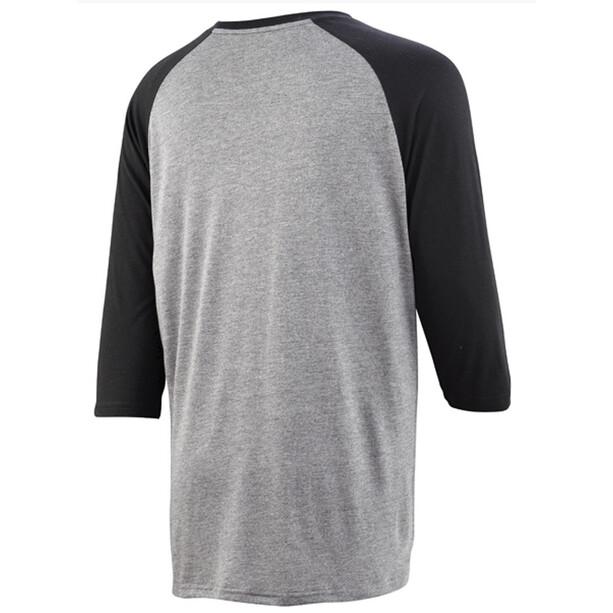 IXS Brand 6.1 3/4 Sleeve Shirt Herren anthrazite/black