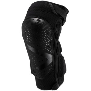Leatt 3DF 5.0 Zip Knieprotektoren schwarz schwarz