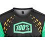 100% R-Core-X DH Jersey Herr black/cyan