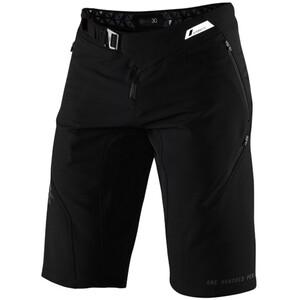 100% Airmatic Enduro/Trail Shorts Herren schwarz schwarz