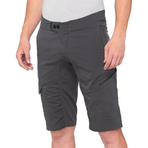 100% Ridecamp Short Homme, gris gris
