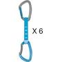 Petzl Djinn Axess Quickdraw 12cm 6 Pack blue