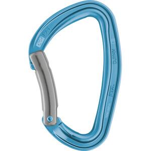 Petzl Djinn Bent Gate Karabiner blue blue