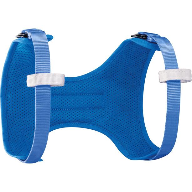 Petzl Body Shoulder Straps Kinder blau