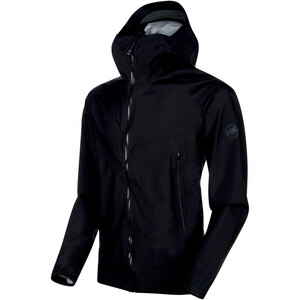 Mammut Masao Light HS Hooded Jacket Herr black-phantom black-phantom