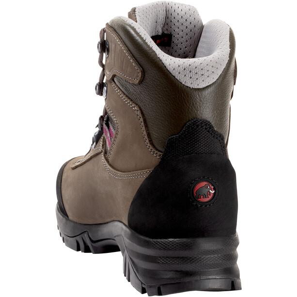 Mammut Trovat Advanced High GTX Shoes Dam bark-grey