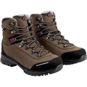 Mammut Trovat Advanced High GTX Shoes Dam bark-grey bark-grey