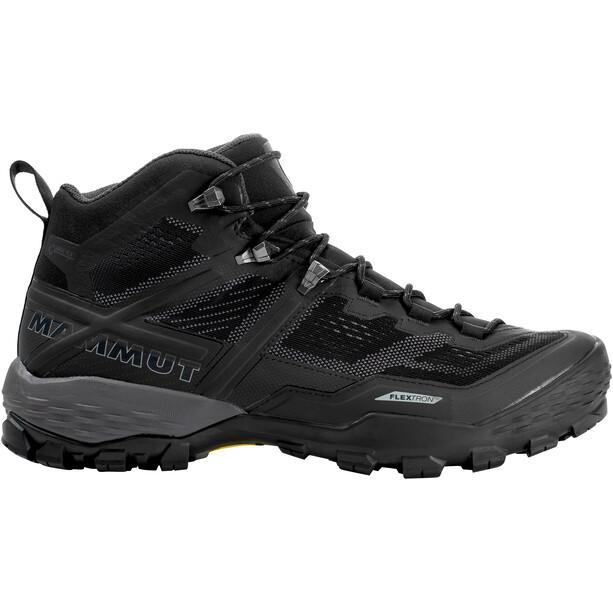 Mammut Ducan Mid GTX Shoes Herr black-dark titanium