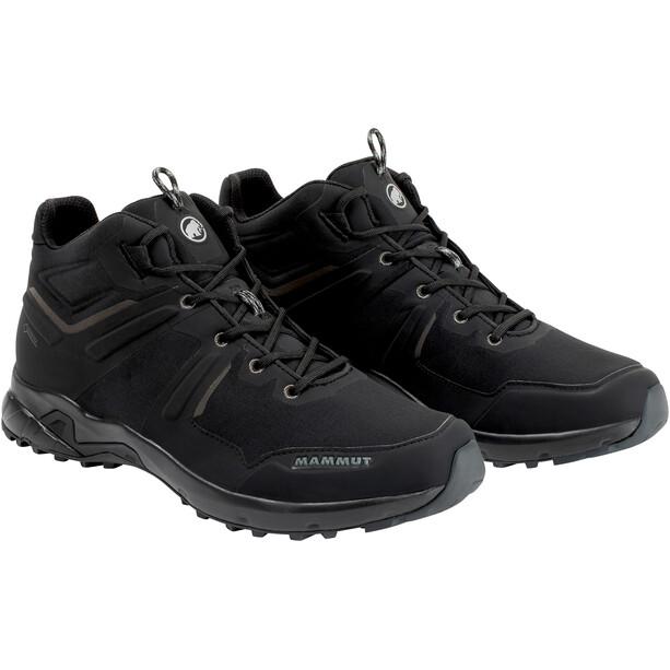 Mammut Ultimate Pro Mid GTX Shoes Herr black-black