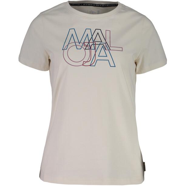 Maloja DuriettaM. T-Shirt Damen vintage white