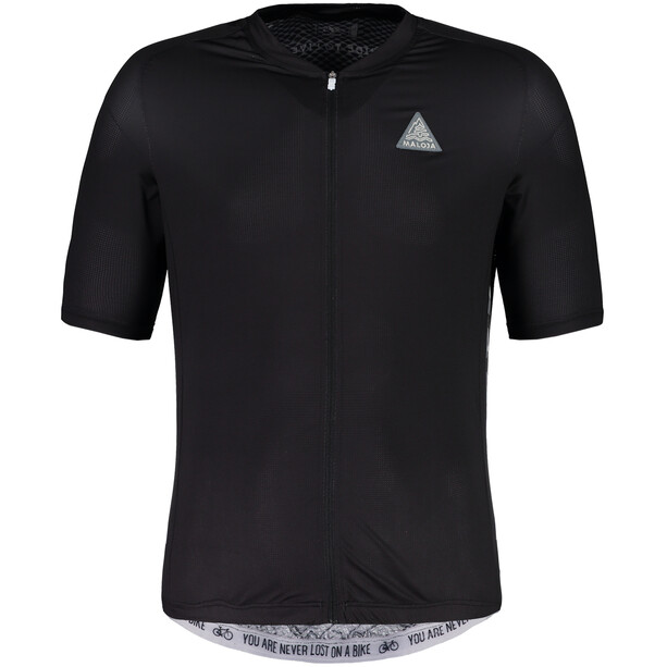 Maloja PlansM. Breeze Shortsleeve Bike Jersey Herr moonless