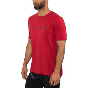 Endura SingleTrack Merino T-Shirt Herren rustred rustred