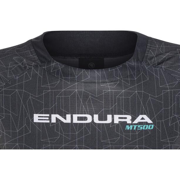 Endura MT500 Print II Trikot langarm Damen schwarz