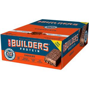 CLIF Bar Builder's Protein Bar Box 12 x 68g Chocolate