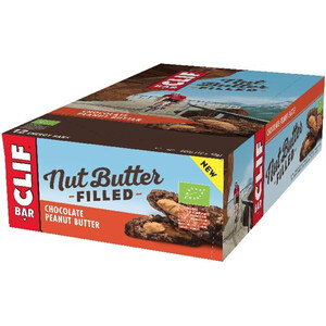 CLIF Bar Nut Butter Energy Riegel Box 12 x 50g Schokolade Erdnussbutter