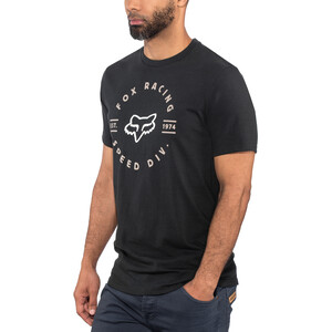 Fox Clocked Out Basic Kurzarmshirt Herren black black