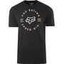 Fox Clocked Out Basic Kurzarmshirt Herren black