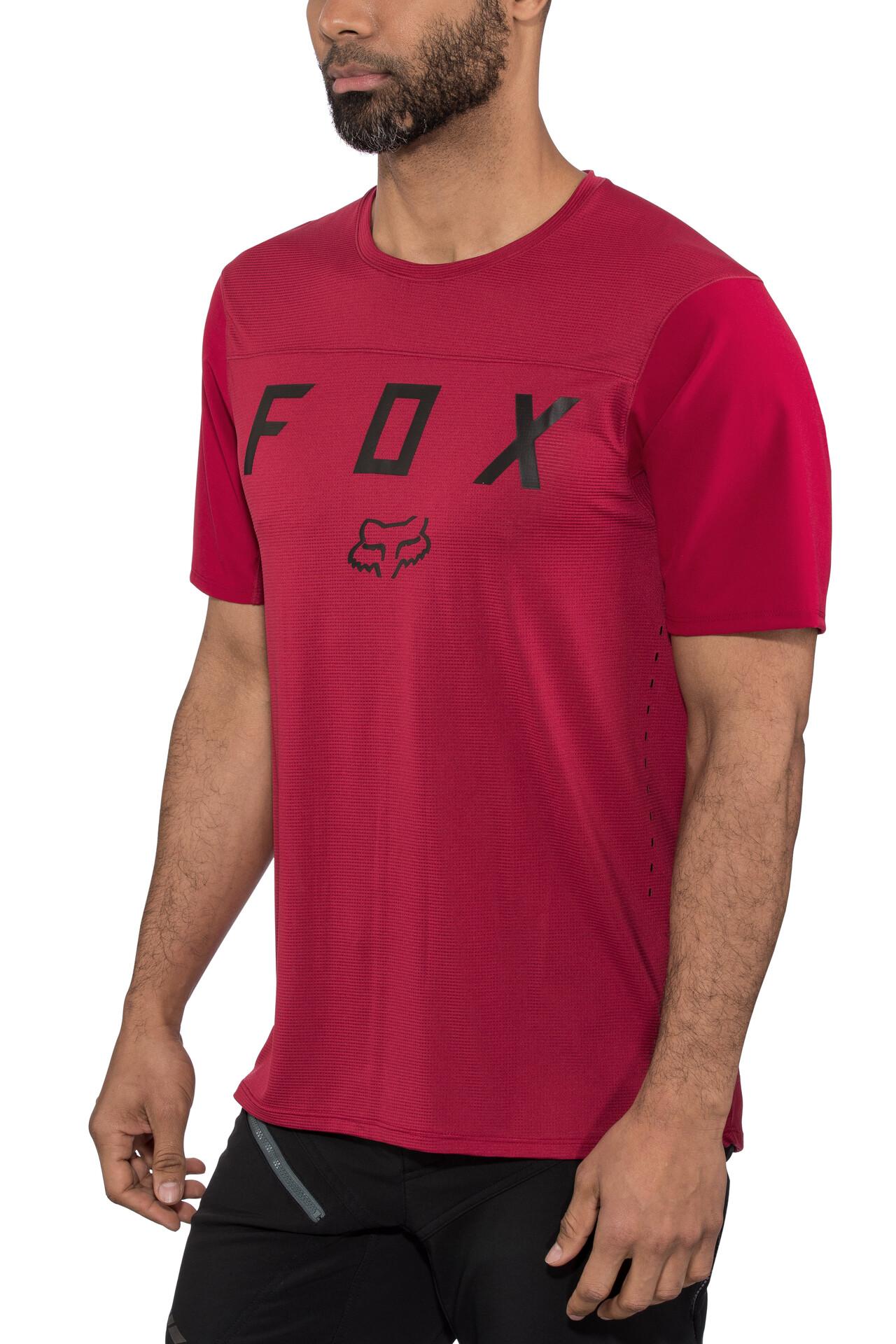 Maglietta Bike Fox FLEXAIR LS FINE LINE JERSEY BLACK