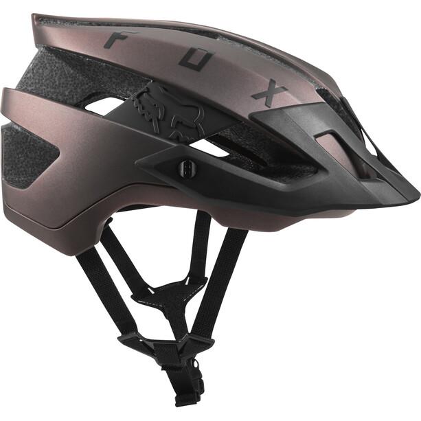 Fox Flux Solid Trail Helm Herren black iri