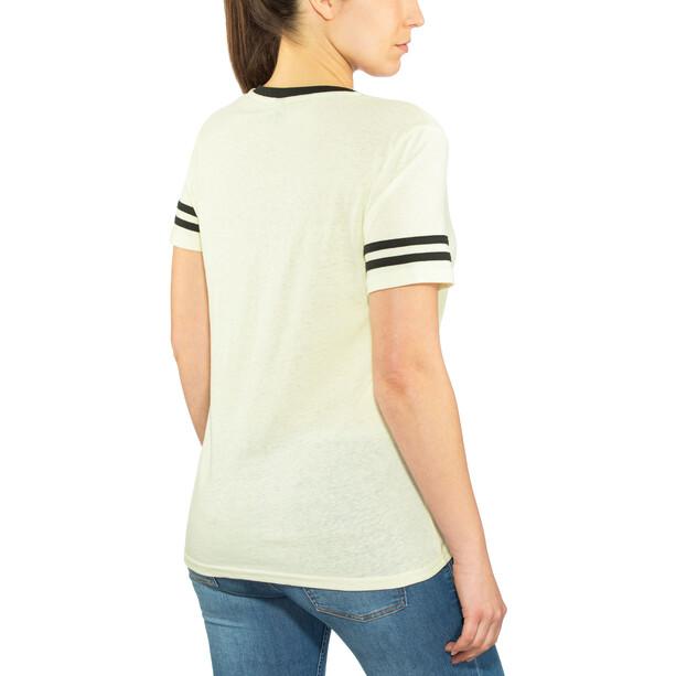 Fox Heartbreaker V-Ausschnitt Kurzarm T-Shirt Damen bone