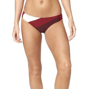 Fox Kingsport Lace Up Swim-Bottom Damen charcoal/graphite/red charcoal/graphite/red