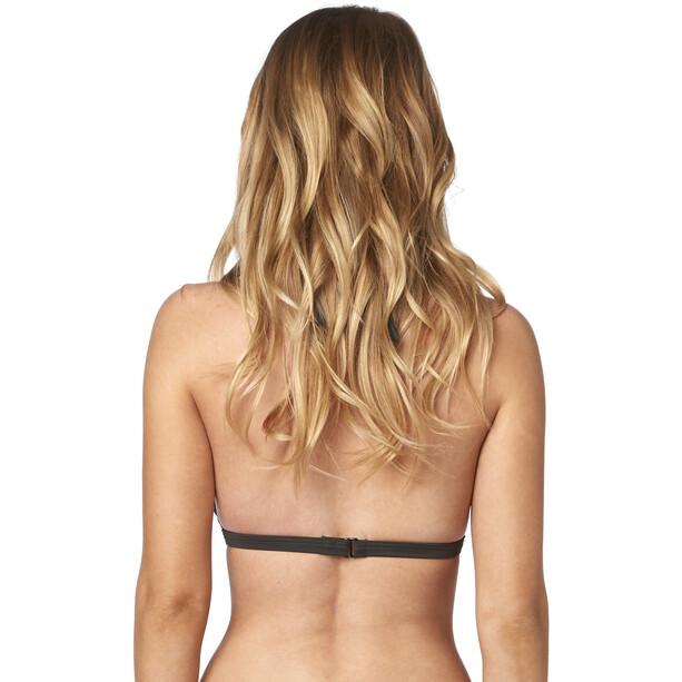 Fox Live Fast Fixed Halter Bikini Oberteil Damen black vintage