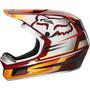 Fox Rampage Comp Reno Fullface Helm Herren cardinal