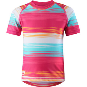 Reima Azores Swim Shirts Mädchen candy pink candy pink