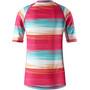 Reima Ionian Schwim Shirt Mädchen candy pink/streifen