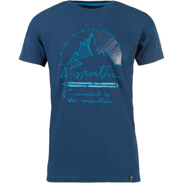 La Sportiva Connect T-shirt Herr opal
