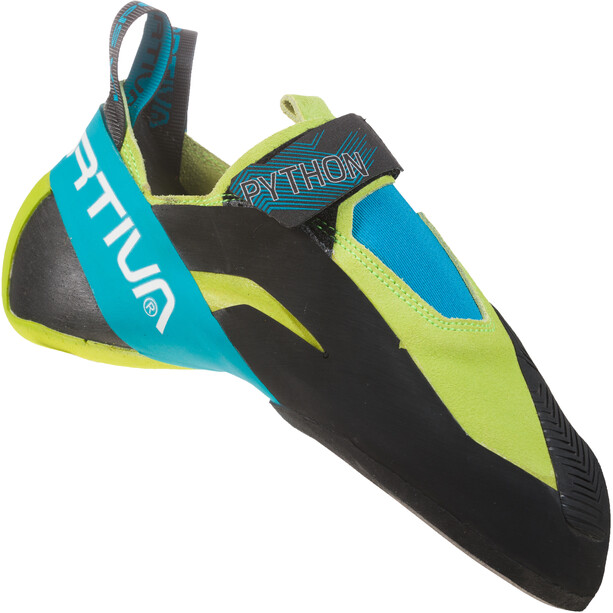 La Sportiva Python Climbing Shoes Men apple green/tropic blue