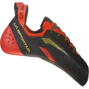La Sportiva Testarossa Shoes Herr red/black red/black