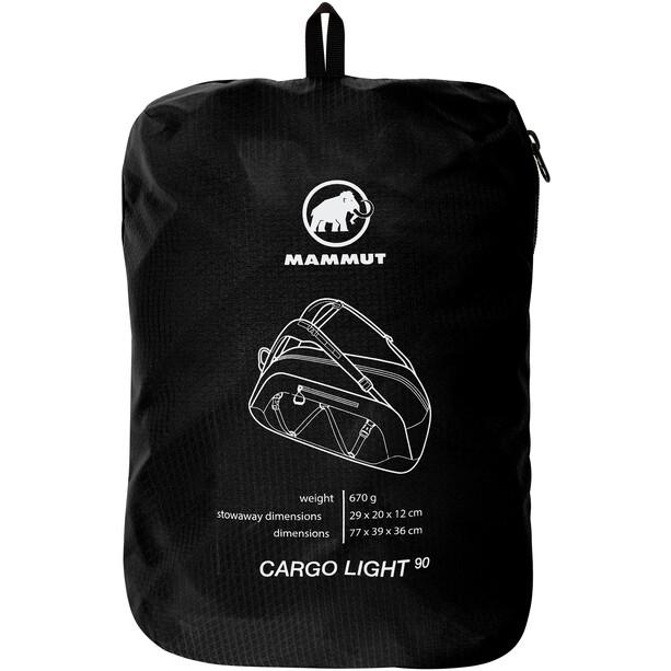 Mammut Cargo Light Umhängetasche 60l schwarz