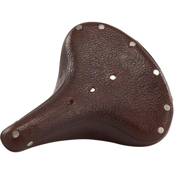 Brooks B66 Unique Saddle Made Of Corn Leather Dam antic brown