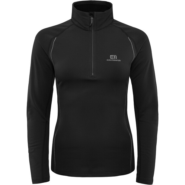 Elevenate Métallier Zip Shirt Dam black