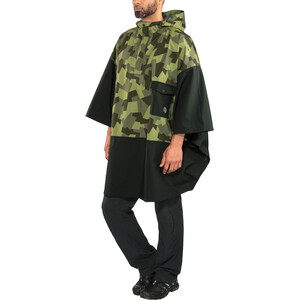 AGU Urban Outdoor 2,5 Layer Poncho black/camo print black/camo print