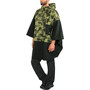 AGU Urban Outdoor 2,5 Layer Poncho black/camo print