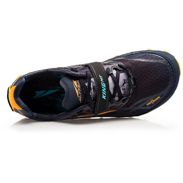 Altra King MT 1.5 Trail Running Shoes Herr black/orange