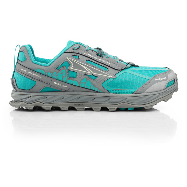Altra Lone Peak 4 Running Shoes Dam teal/gray