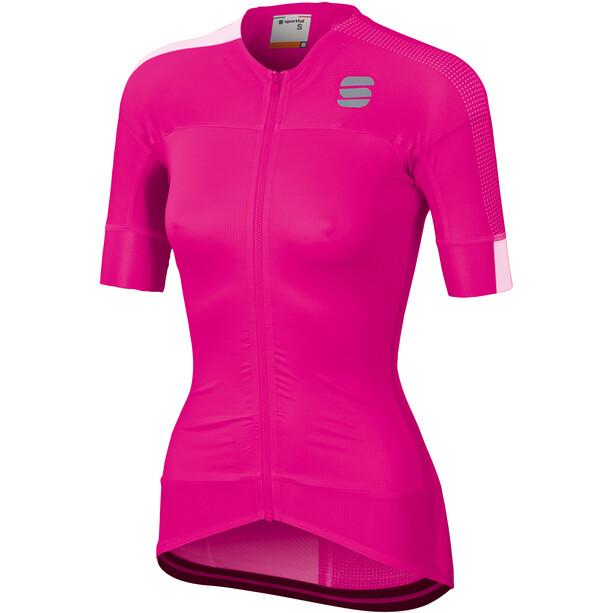 Sportful Bodyfit Pro 2.0 Evo Trikot Damen bubble gum/white