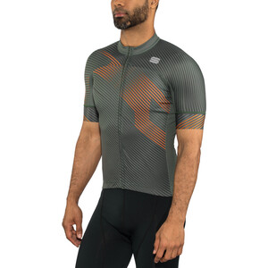 Sportful Bodyfit Team 2.0 Faster Trikot Herren dry green/orange sdr dry green/orange sdr