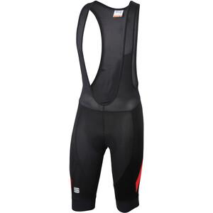 Sportful Neo Short de cyclisme Homme, noir/rouge noir/rouge